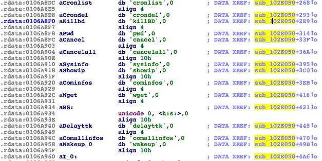 Dino-APT-commands