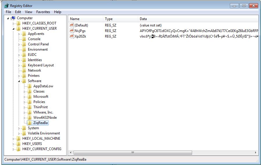 Poweliks Registry Keys