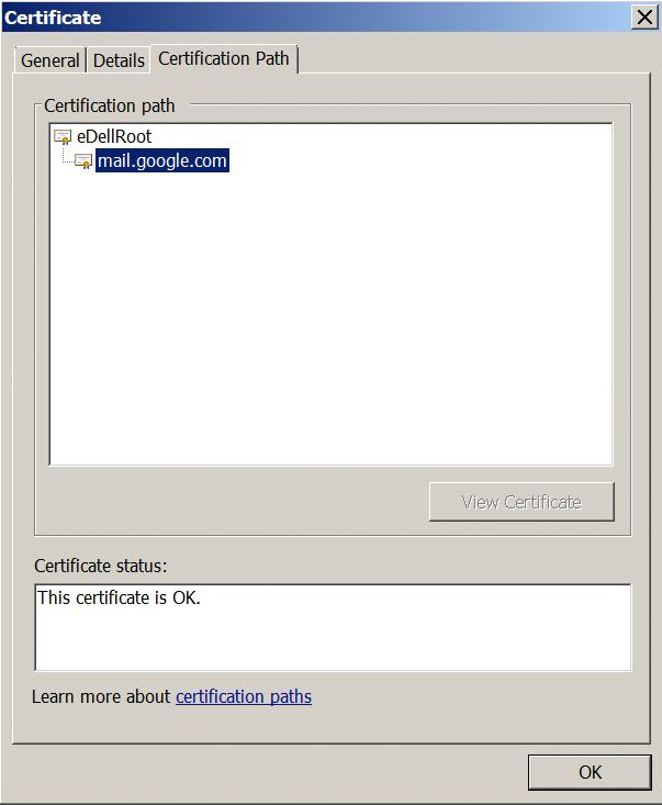 Dell Google Certificate