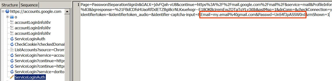 Dell Gmail Credentials