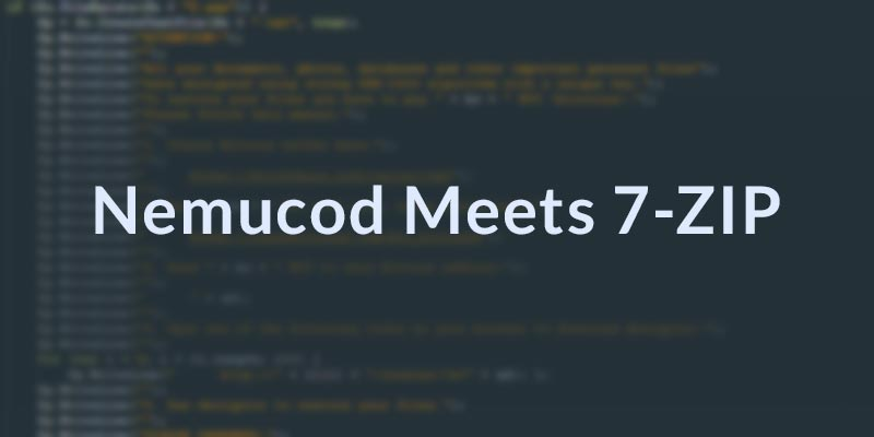 Nemucod meets 7zip