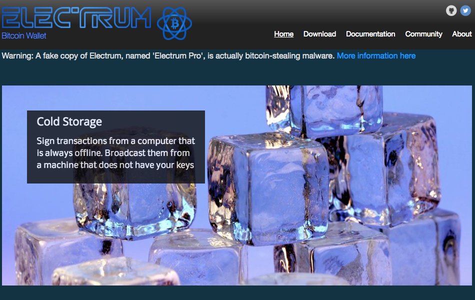 Electrum real page